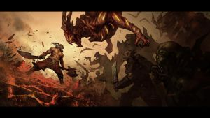 Diablo 3: Intimidating Shout by poojipoo