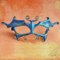 Wide Eyed Faerie Mask by Beadmask