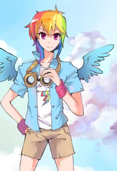 Rainbow Dash 2 by cuhenghdj