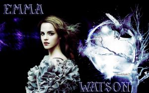 Emma Watson Wallpaper by Bookfreak25