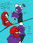 PC Knuckles and Jake engaged by Wrath-AndAngels by Rykeforlife187