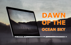 Dawn of the ocean sky by Devonix