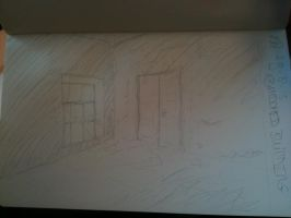 20130829 AbandonedBuilding by SketchDailyChallenge