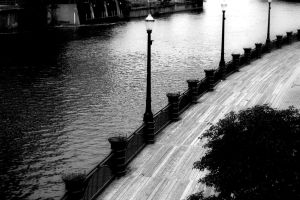 The Riverwalk by Matthileo