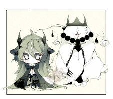 [CLOSED] ADOPT OTA 02 - Shadowmonster by Piffi-adoptables