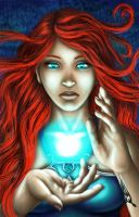 Water Sorceress by Dralea