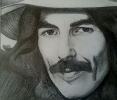 George Harrison by georginaflood