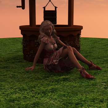 Dreaming at the Well by BrynneEmrys