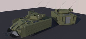 IFV Concept 1 by Jon-Michael-May