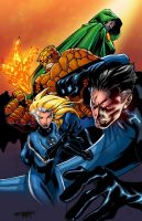 Fantastic Four-Colors by SplashColors