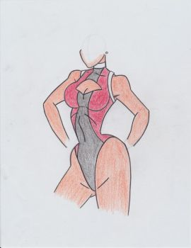 Burn Out - Costume Base Design - Initial Coloring by Will-Radie