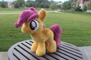 Scootaloo 10 inch plush by Emberfall0507