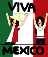 VIVA MEXICO!!! by luckyalexa
