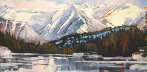 Banff Vista by artistwilder