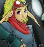 Girly looking Jak by cheenot