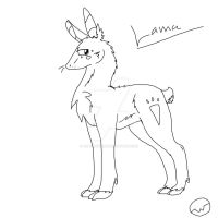 Lama ( dont have name jet) by SonilverFanForever