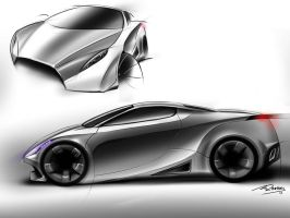 car sketches 2 by mikednhm