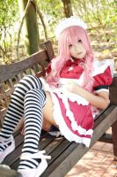 Vocaloid - Meido Luka by Xeno-Photography