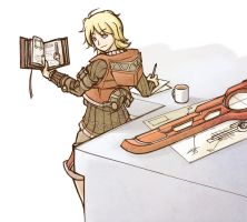Scholar Shulk by lyiol
