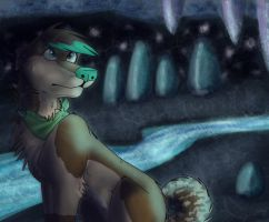 mind palace (cave) by GrayCanidae