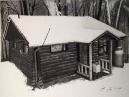 Cabin by golfiscool