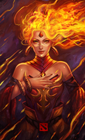 DOTA 2 - Lina by manusia-no-31