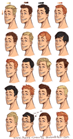 --+20 diffrent haircuts+-- by Marre-Chan95