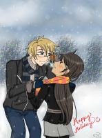APH: Christmas Visit :D by kahochanlenkunlovers