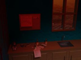 breakfast counter by CrossRage