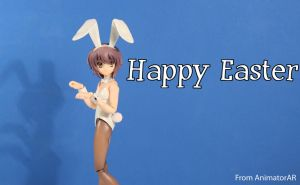 Happy Easter - Bunny Yuki by AnimatorAR
