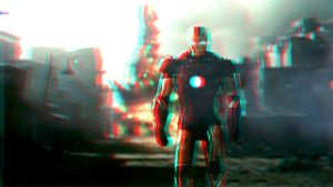 I AM IRON MAN!!! in 3D by homerjk85