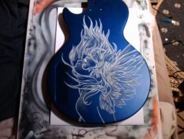 unfinished blue by Dolhaus