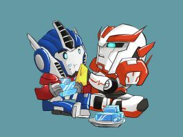 TFP Orion and Rachet by Mr-SO