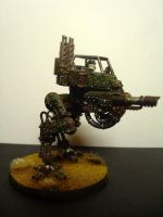 Imperial Guard Sentinel - The 'Speckled Hen' by JDAtrocityExhibition