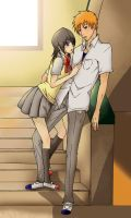 IchiRuki After school by Cygnetzzz