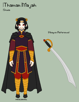 ToS - Thaman Reference Sheet by porcelian-doll