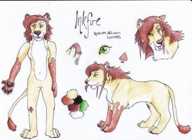 InkFire Reference Sheet by RiiThePup