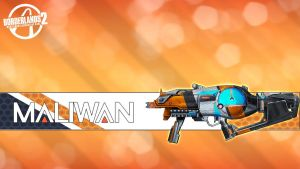 Borderlands 2 Wallpaper - Maliwan Skin by mentalmars