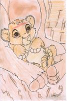 Baby Simba_Colour by ArtemisCreed
