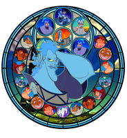 Stained Glass Hades by IlSelma