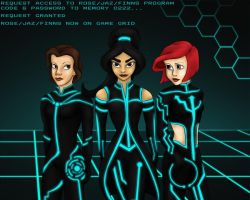 TRON Program 1 by PhantomKat813