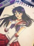 Sailor Mars by eyes2blues