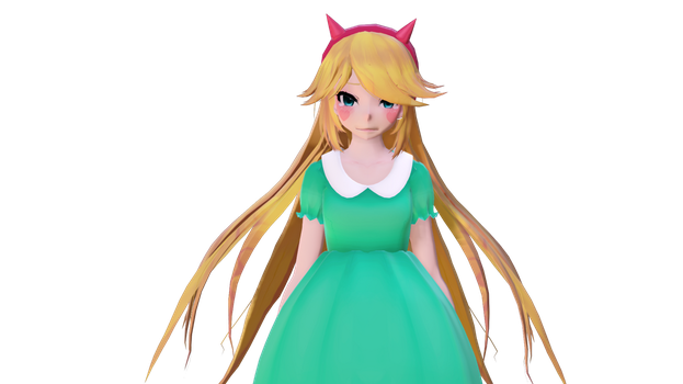 Star Butterfly Model WIP 2 by TheChibiYandere