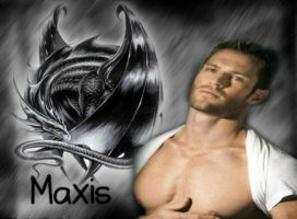 Maxis the Dragon by FallenThunderWolf