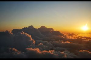 Above the clouds by Phoeni-xx