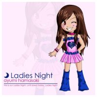 Chibi Ayu - Ladies Night by ichigo-madeen