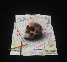 Sugarskull by JJKAirbrush