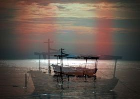 Boat and the light leaks by bornASpristine