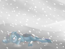 Rainbow Dash is lost by Mioumioune