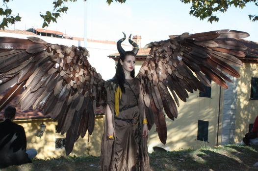 Maleficent (Wings) Cosplay by Maspez